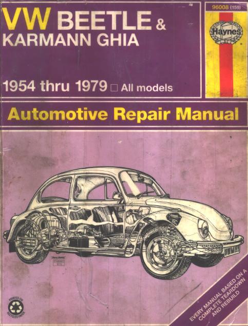 vw beetle 1600 workshop manual free download