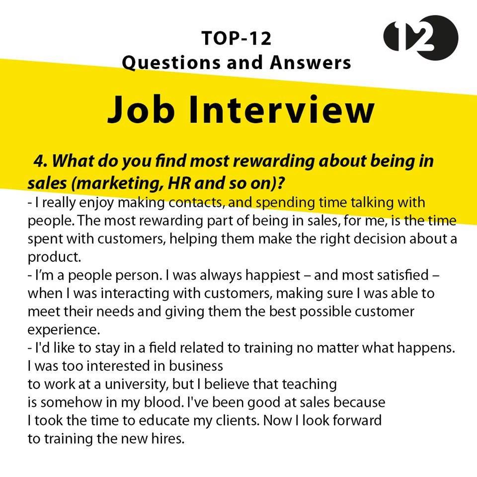 Image Result For Great Interview Answers To Questions
