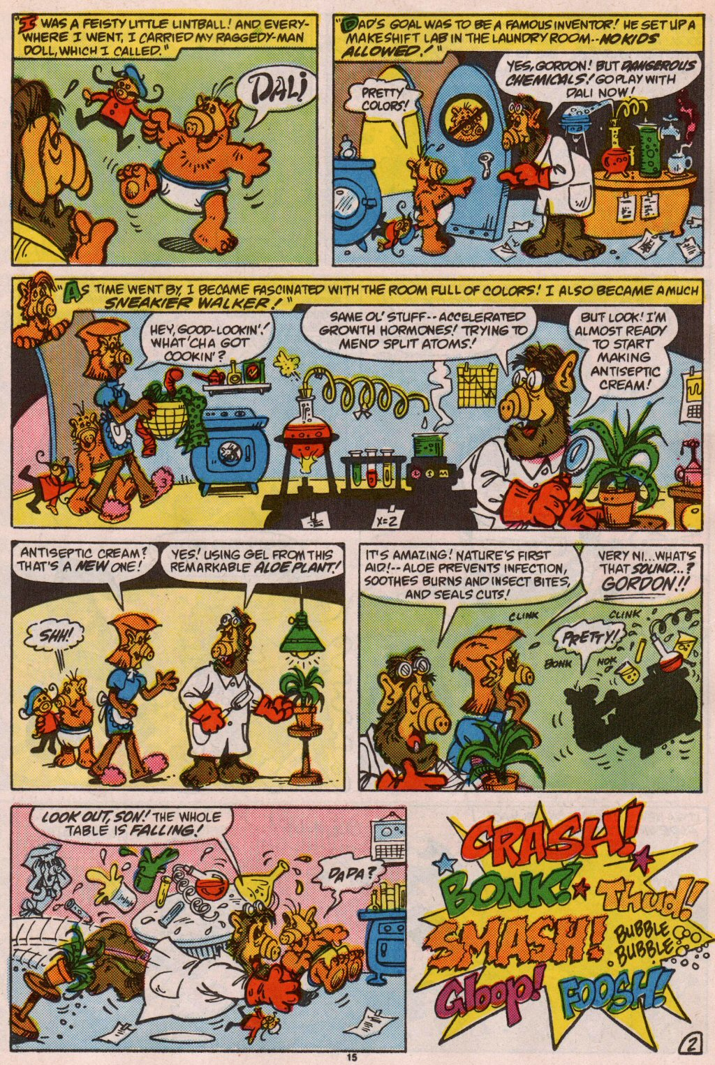 Read online ALF comic -  Issue #7 - 12