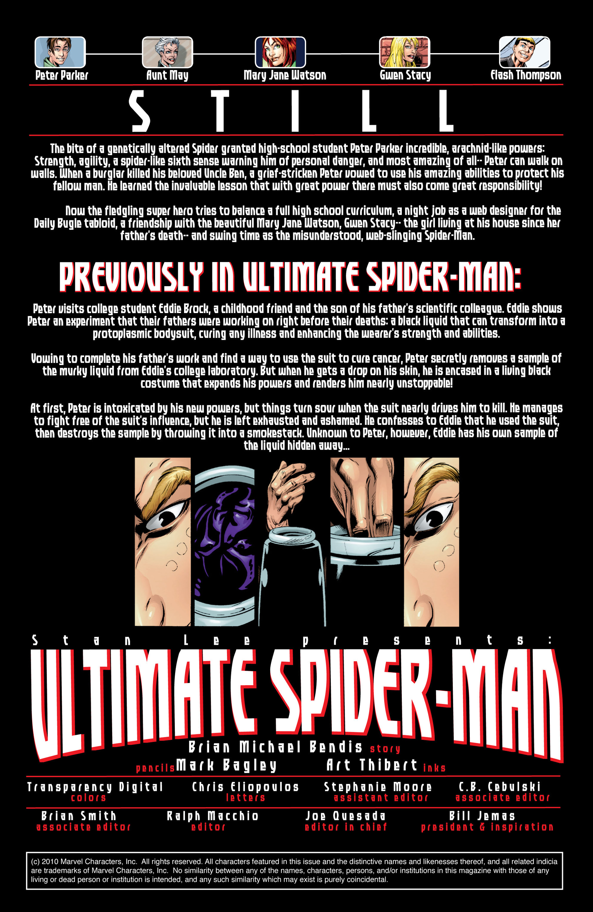Read online Ultimate Spider-Man (2000) comic -  Issue #37 - 2