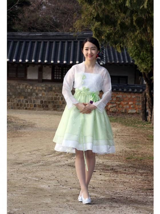 Dress Korea Baju Korean Hanbok Modern Busana Korea