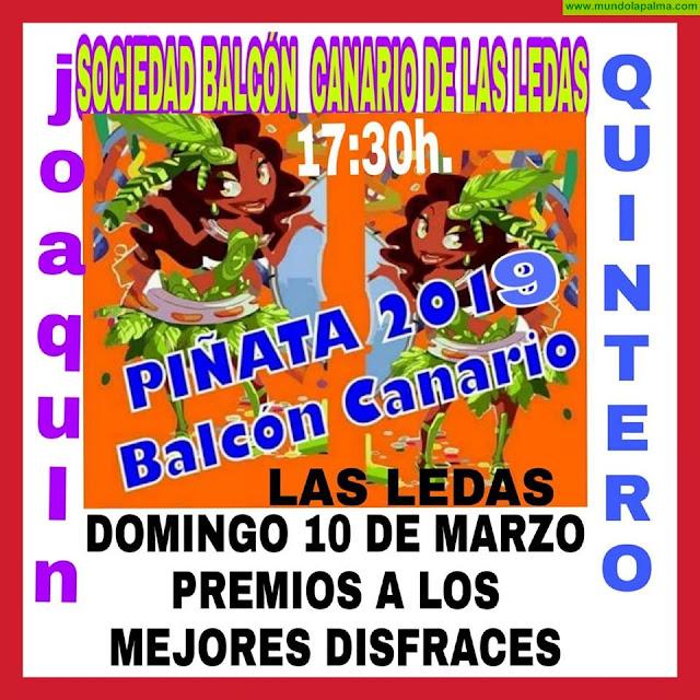 BALCÓN CANARIO: Baile de Piñata