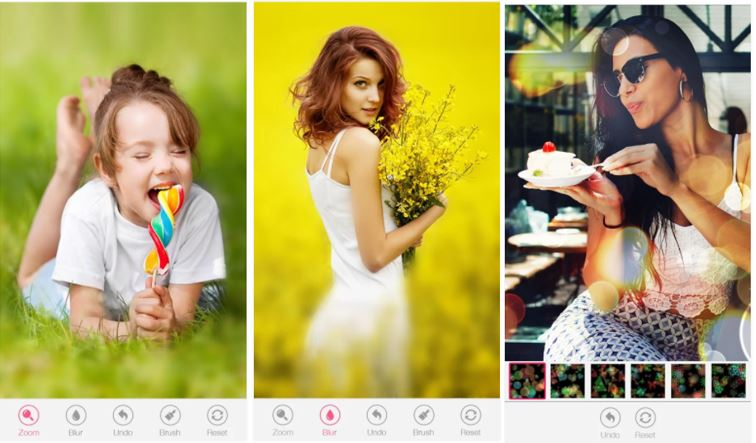 Blur Bokeh Background app android free