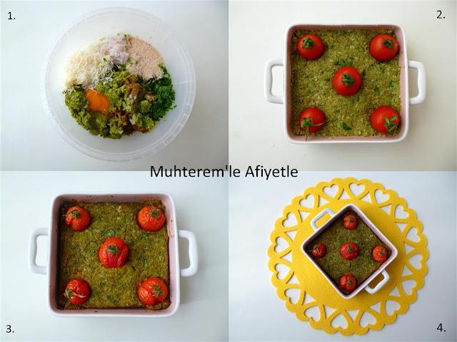 fırında brokoli püresi tarifi