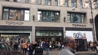 Topshop Oxford Street London