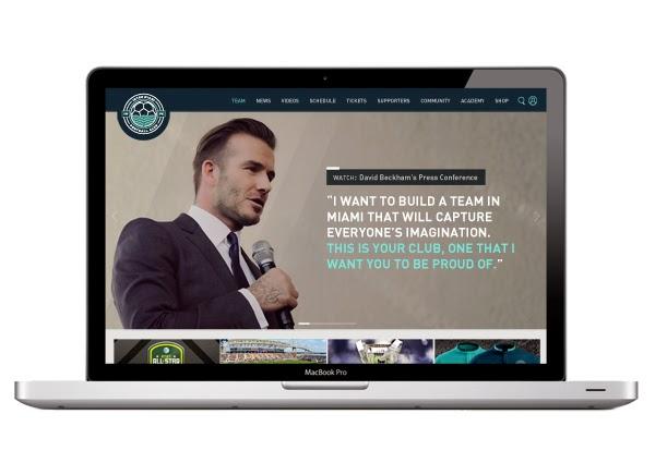 Proyecto de branding para el futuro equipo de fútbol de Miami
