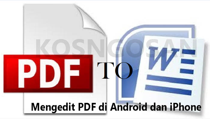 edit pdf di android dan iphone