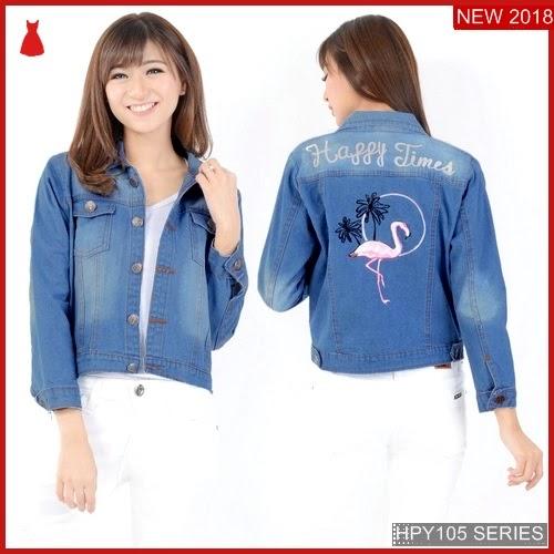 HPY105J122 Jaket Jeans Anak Flamingo Murah BMGShop
