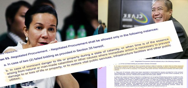 Sen. Grace Poe's believes