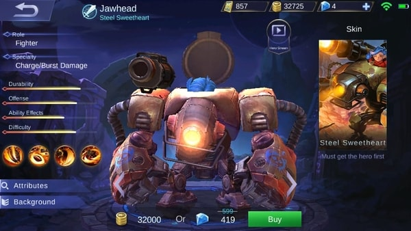 new hero jawhead