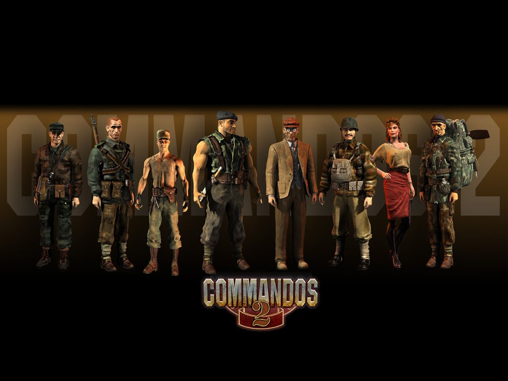 Commando 2 Wallpaper: GAMES AND SOFTWARE: COMMANDOS:MEN OF COURAGE FREE DOWNLOAD