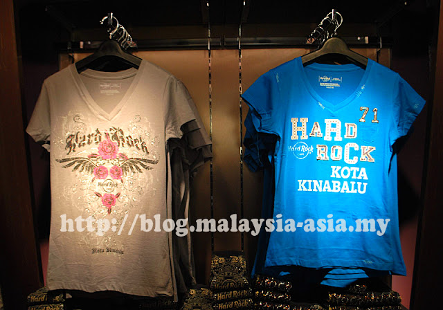 Hard Rock Cafe Kota Kinabalu T-Shirts