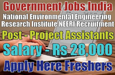 NEERI Recruitment 2019