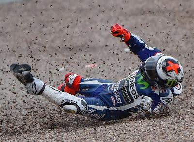 Dua Rider Yamaha Terjebak di Kualifikasi 1 MotoGP Jerman