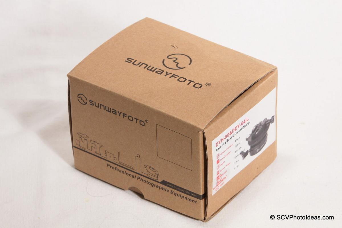 Sunwayfoto DYH-90+DDY-64iL combo box