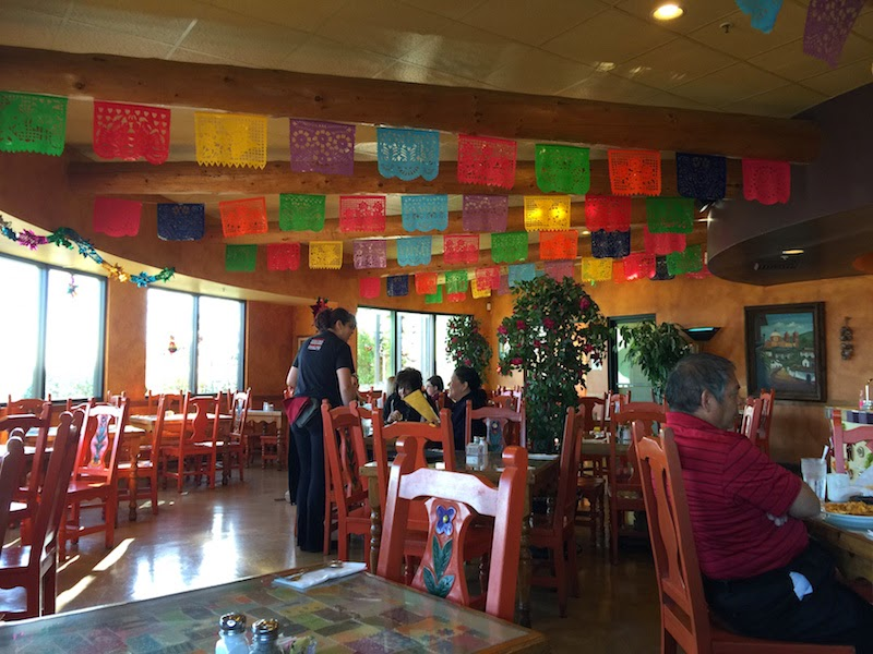Inside the Mosaic Cafe in Tucson as seen on Throwdown with Bobby Flay