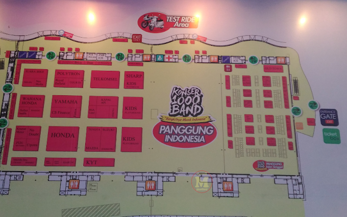 Ada Area Test Ride di Pekan Raya Indonesia 2016 - Asyik! Bisa Jajal Motor Baru!