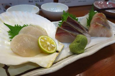 Keria Japanese Restaurant, sashimi