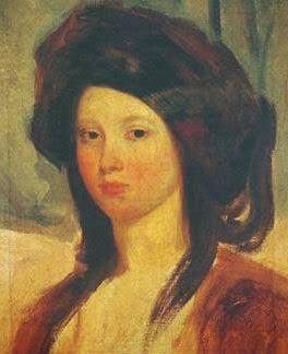 Juliette Drouet by Charles-Emile-Callande de Champmartin, 1827