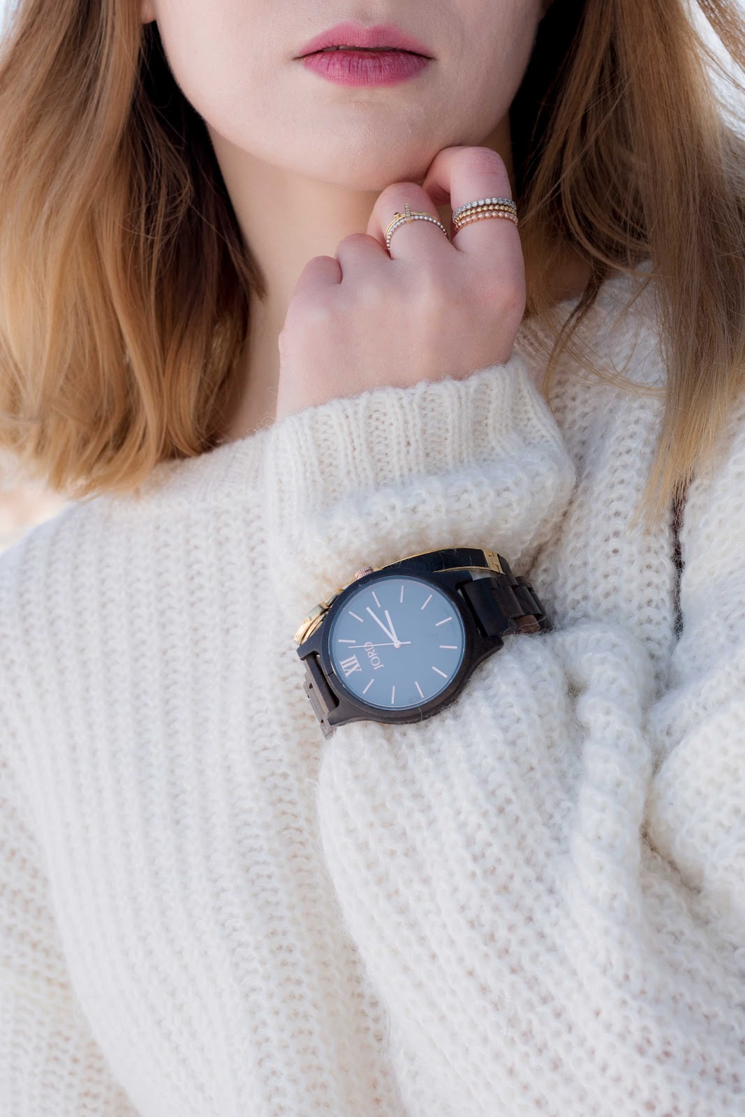 Jord watches, wood watches, uniqlo, minimalistic outfit, winter fashion, culottes