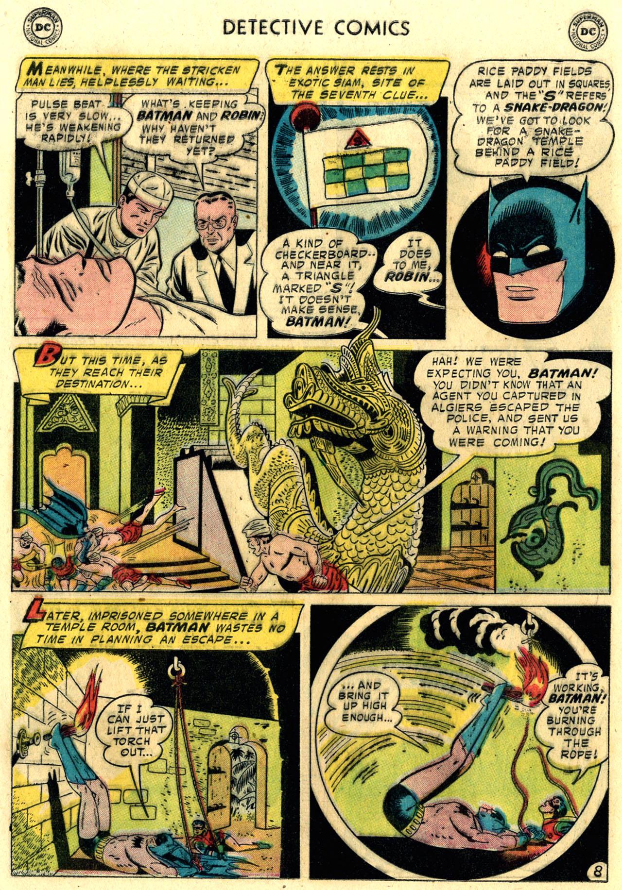 Read online Detective Comics (1937) comic -  Issue #248 - 10