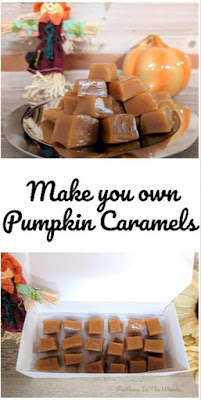 pumpkin caramels recipe