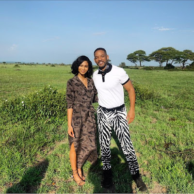 Photos: Supermodel Chanel Iman Is In Tanzania With Will Smith To WitnessThe Serengeti Wonders