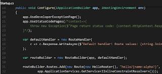 Code from Startup.cs