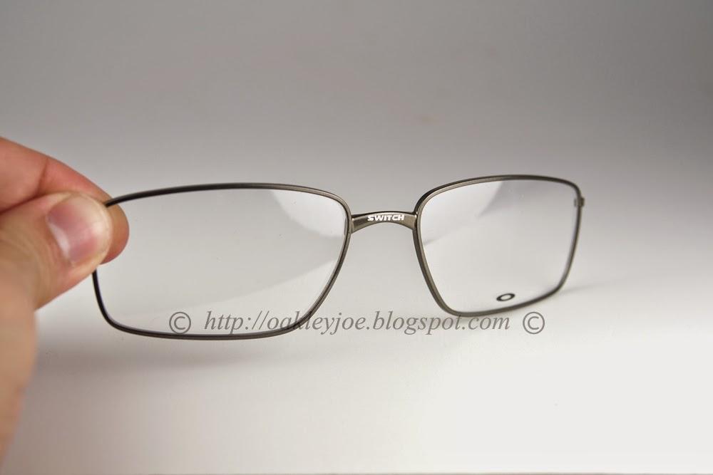 3456e3c9ea Eyeglasses  lenses EDC box needed (Oakley Crosslink Switch)
