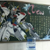 Gundam Chalk Drawings