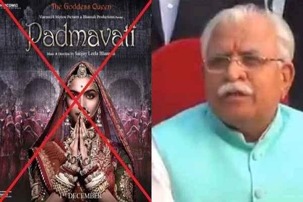 haryana-cm-manohar-lal-khattar-will-give-security-to-padmavati-film