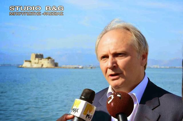 Συγχαρητήρια επιστολή Ανδριανού στον Κυριάκο Μπέκα για την κατάκτηση του αργυρού μεταλλίου στους Βαλκανικούς Αγώνες Στίβου