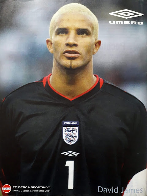 PIN UP DAVID JAMES OF ENGLAND
