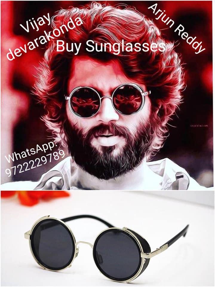 57068d4d283 Arjun Reddy movie Sunglasses worn by Vijay Devarakonda Rs999 + Ship ...