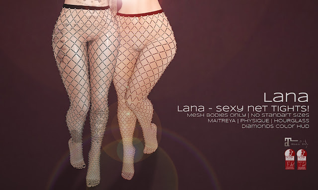 ♛ Lana - sexy net tights! ♛