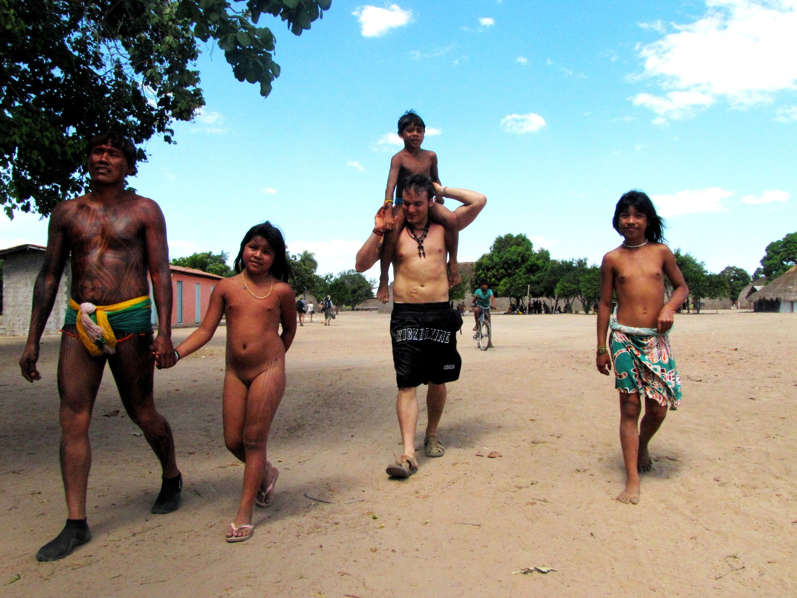 amazon jungle tribes girls nudes