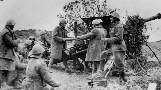 14 November 1940 worldwartwo.filminspector.com Greek troops Battle of Morava-Ivan