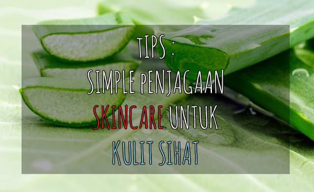 Tips | Simple Penjagaan Skincare untuk kulit Sihat