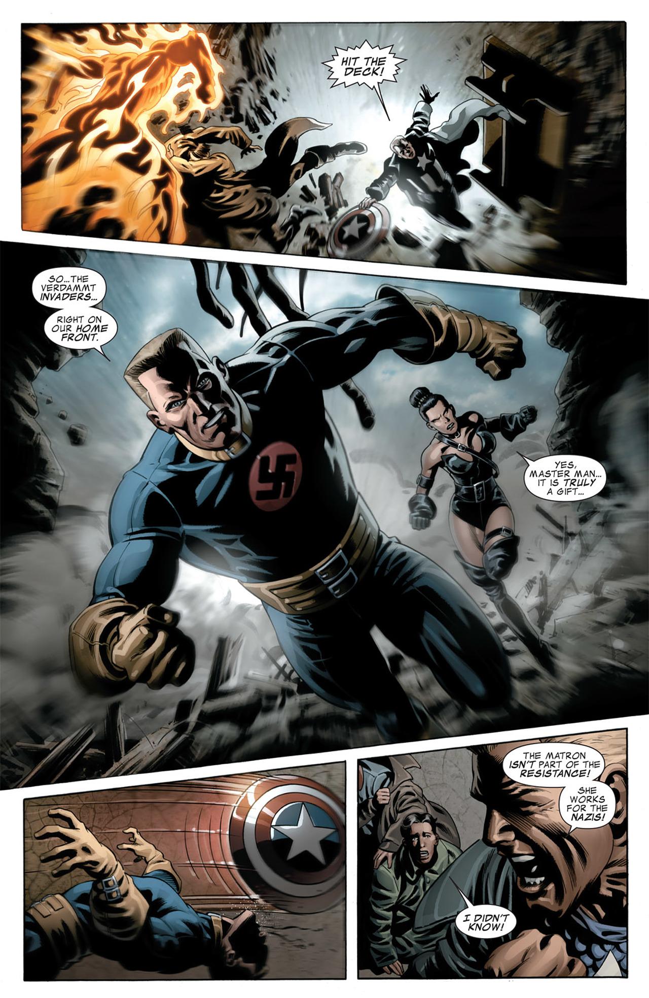 Read online Captain America (2005) comic -  Issue #50 - 12