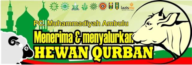 Panitia Qurban PCM Ambulu