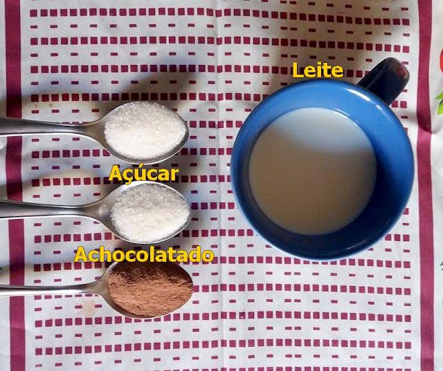 receita de chocolate quente com caramelo