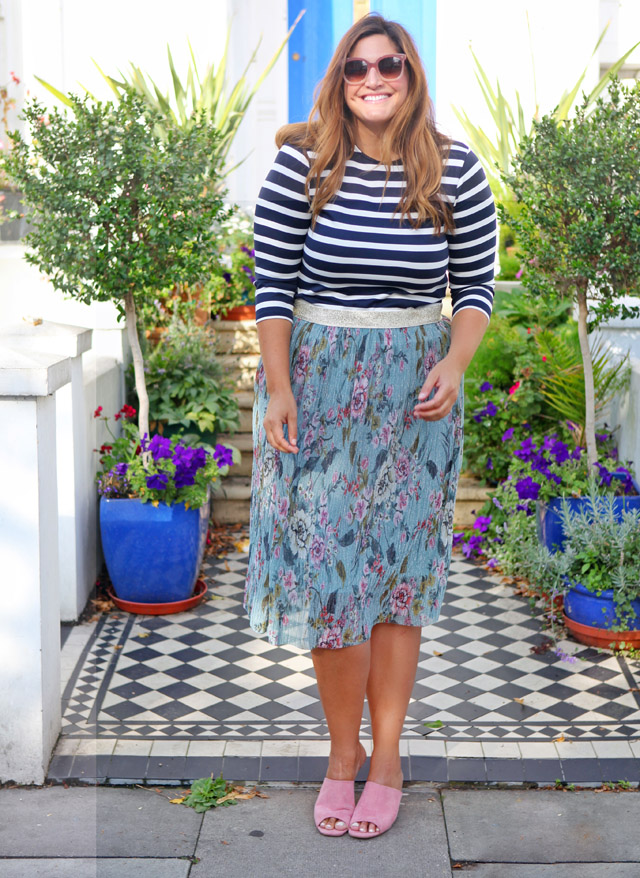stripes and florals fashion