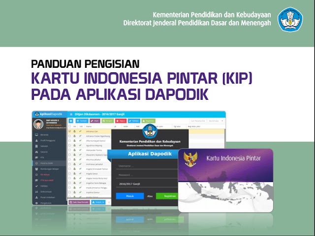 Panduan Lengkap Pengisian Dan Cara Input Kartu Indonesia Pintar Pada Dapodik 2016 Terbaru