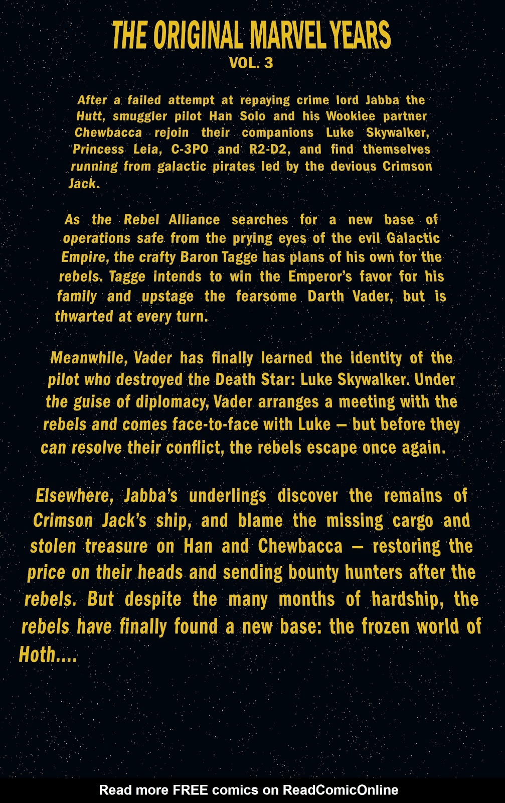 Read online Star Wars Legends: The Original Marvel Years - Epic Collection comic -  Issue # TPB 3 (Part 1) - 5