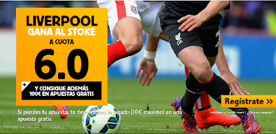betfair Liverpool vs Stoke cuota 6 Premier League 9 agosto