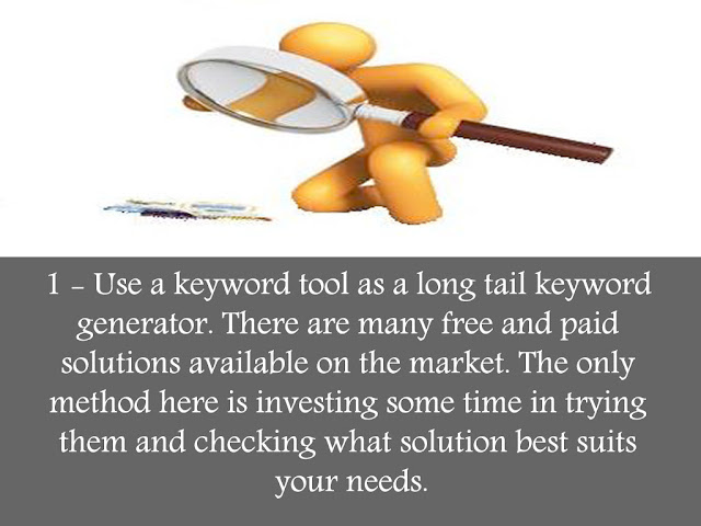 using keyword tools to find long tail keywords