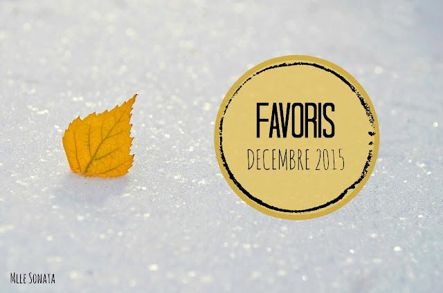 Favoris décembre 2015