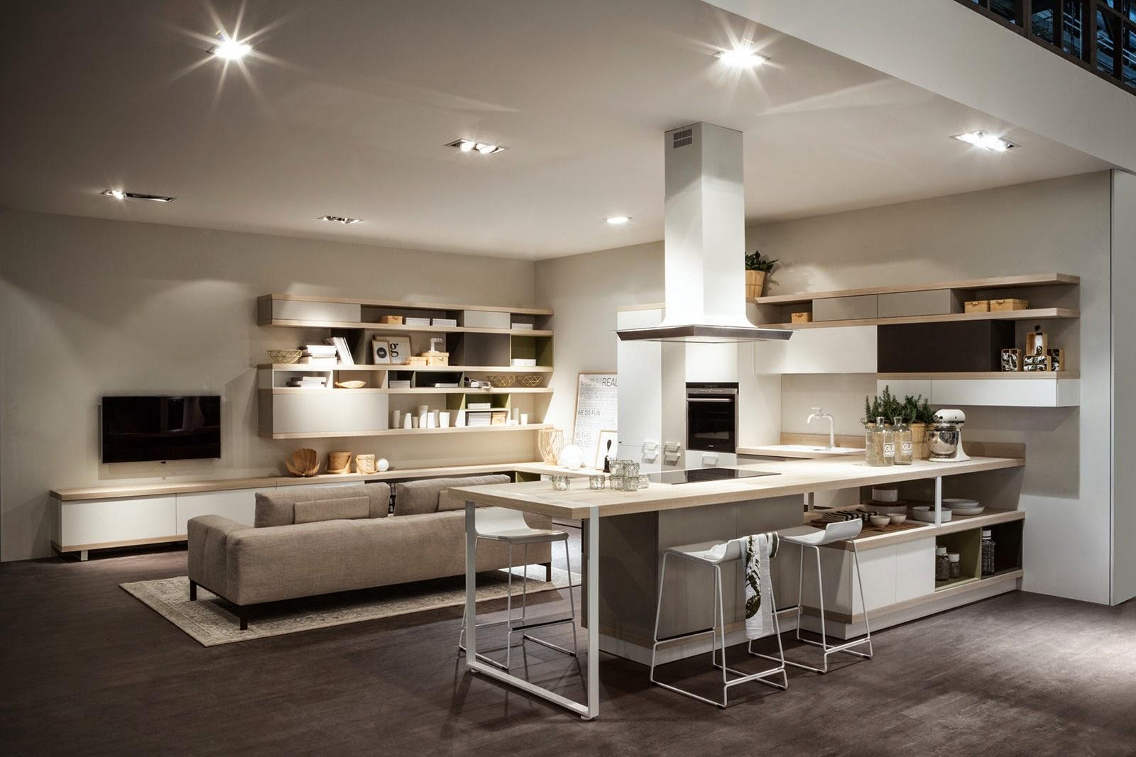Decorar una sala y cocina juntos colores en casa for Ideas para decorar sala y comedor pequenos