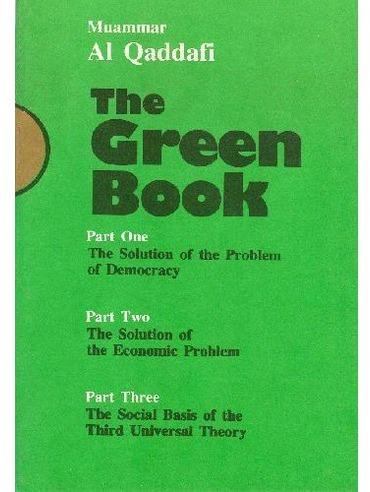 The Green Book Gaddafi