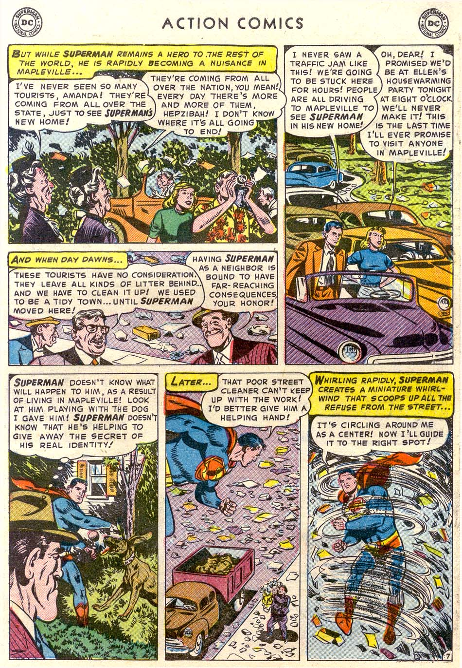 Read online Action Comics (1938) comic -  Issue #179 - 8